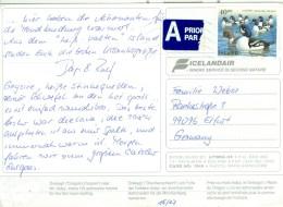 Island 40 Kr. Enten TGST Reykiavik 1996 - 1944-... Republique