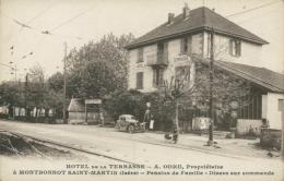 38 MONTBONNOT SAINT MARTIN / Hôtel De La Terrasse / - Andere Gemeenten