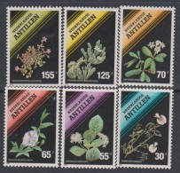 Antilles Néerlandaises N° 861 / 66  XX  Flore : Fleurs ,  Les 3 Valeurs  Sans Charnière, TB