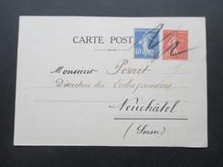Frankreich 1930 Postkarte Societe Alfred Binet. Psychologie De L'Enfant Et Pedagogie Experimentale - Frankreich