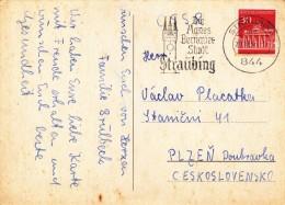 K9893 - BRD (1966) 844 Straubing: The Agnes Bernauer (1410-1435) City Of Straubing (postcard) Tariff: 30 Pf.