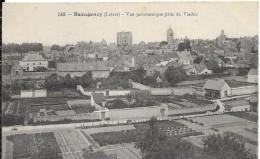 BEAUGENCY (Loiret).- Vue Panoramique Prise Du Viaduc (1735) - Beaugency