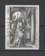MONACO . YT  876  Neuf **  500e Anniversaire De La Naissance D'Albrecht Dürer  1972
