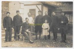 CPA Carte Photo Campagne 1914 1915 Soldat 3e Régiment Militaire Petite Fille WW1 - Guerre 1914-18