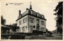 BELGIQUE - BRABANT WALLON - TUBIZE - SAINTES - Château Poederlé (vue Arrière) N°4. - Tubeke