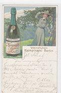 Weinstuben Kempinski, Berlin - Litho - 1904     (PA-2-140320) - Pubblicitari