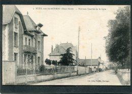 CPA - NUEIL SOUS LES AUBIERS - Nouveau Quartier De La Gare - Autres Communes