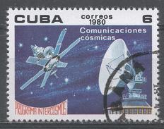 Cuba 1980. Scott #2323 (U) Intercosmos Program, Satellite Communications * - Cuba