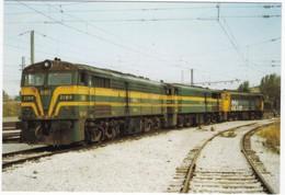 CPM ESPAGNE LOCOMOTORA DIESEL ELECTRICA 2169 - 2160 - 321.021 - Trenes