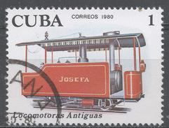 Cuba 1980. Scott #2357 (U) Early Locomotives: Josefa * - Cuba