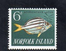 NORFOLK ISLAND 1960-3 ** - Isola Norfolk