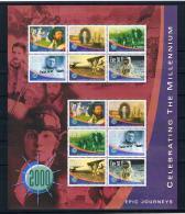 Irland 2001 Jahrtausendwende Mi.Nr. 1298/306 Zd-Bogen ** - 1949-... Repubblica D'Irlanda