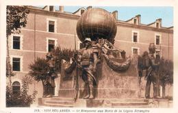 Algérie Sidi Bel Abbes Monument Aux Morts De La Légion étrangère