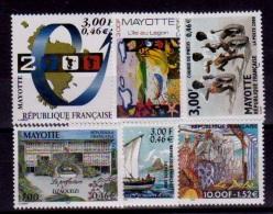 (33//44) Mayotte  6 Values / Ex 1999/2000  ** / Mnh  Michel 71//85
