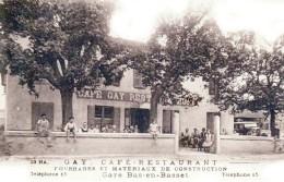 Gare De BAS-EN-BASSET - Café Restaurant GAY - Très Beau Plan Animé