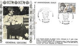 61  ALENON  50° Anniversaire De La Libération D'Alençon  Hommage à Leclerc  22/08/94