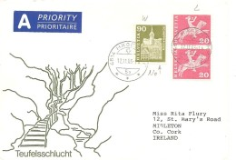 Schweiz, Bauten, 1960, Brief, 2003 Hägendorf Nach Midleton Ireland, 368 RM Mit Nr. , Siehe Scans!