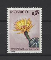 MONACO  . YT  1000  Neuf **  Plantes Du Jardin Exotique  1974