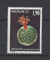 MONACO  . YT  1001  Neuf **  Plantes Du Jardin Exotique  1974