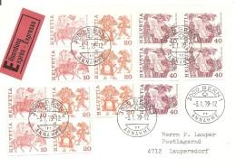 Schweiz, 1979, Heftchen FDC, 3 Briefe, Siehe Scans!