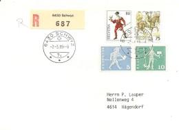 Schweiz, 1989, Reiterbote ET, 740 , Siehe Scans!