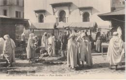 ALGER - Petit Marché Arabe - Place Randon