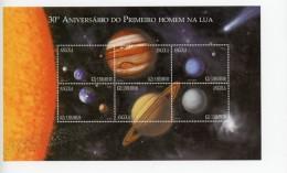 Angola 1999-Exploration De L´espace-1358/63***mnh