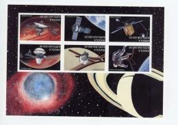 Angola 1999-Exploration De L´espace-1328/33***mnh