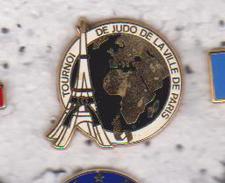 Pin's  TOURNOI DE JUDO DE LA VILLE DE PARIS - Judo