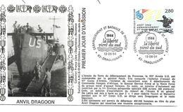 83  83  DRAGUIGNAN  Débarquement Et Bataille De Provence  13/08/94