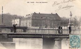 Cpa  Caen 14 Calvados Le Pont Des Abattoirs - Caen