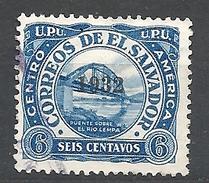 EL SALVADOR    1932 Stamps Of 1924 & 1926 Overprinted 1932  USED - El Salvador