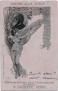 Commemoraz G. Verdi 1901 Teatro Alla Scala - Manifestazioni