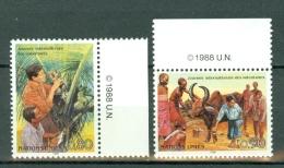 VN Genève 1988  Mi/Yv MNH  167/168**   Cat. Yv. € 3,80
