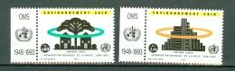 VN Genève 1993  Mi/Yv MNH  247/248**   Cat. Yv. € 3,10