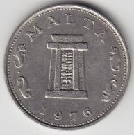 @Y@  Malta   5  Cents    1976     (3389) - Malta