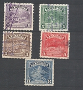 EL SALVADOR 1938 Local Motives SET USED