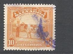EL SALVADOR  1939 Local Motives  COW   USED