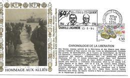 14  GRANVILLE LANGANNERIE  50° Anniversaire Du Débarquement 1944/1994  13/08/94