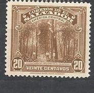 EL SALVADOR  1939 Local Motives EXTRACCION DEL BALSAMO MNH