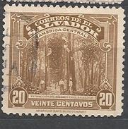 EL SALVADOR  1939 Local Motives EXTRACCION DEL BALSAMO  USED