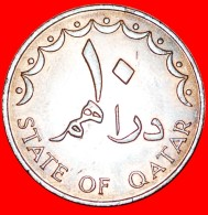 § SHIP: QATAR ★ 10 DIRHAMS 1393-1973! LOW START★ NO RESERVE! - Qatar