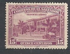 EL SALVADOR  1944 Airmail - Buildings   MNH