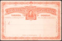 2 Centavos Classic Postal Stationery Card, República Honduras