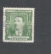 EL SALVADOR  1947 Personalities Salvador Rodriguez Gonzalez  USED