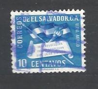 EL SALVADOR  1952 The 4th Anniversary Of The Revolution & The 2nd Anniversary Of The Constitution    USED