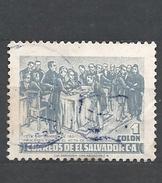 EL SALVADOR 1953 Independence    USED
