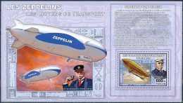 D- RD CONGO 2006 - Les Moyens De Transports - Les Zeppelins - Ferdinand Von Zeppelin.