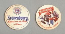 Brasserie Kronenbourg, Bière D'Alsace (Sous-bock Beer Mat Coaster Bierdeckel Bierviltje) - Sous-bocks