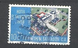 EL SALVADOR  1958 Salvador Hotel Commemoration   USED